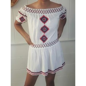 Tularosa embroidered dress